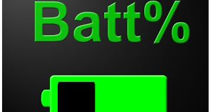 Tutorial – Showing the Battery Percentage on the Status Bar