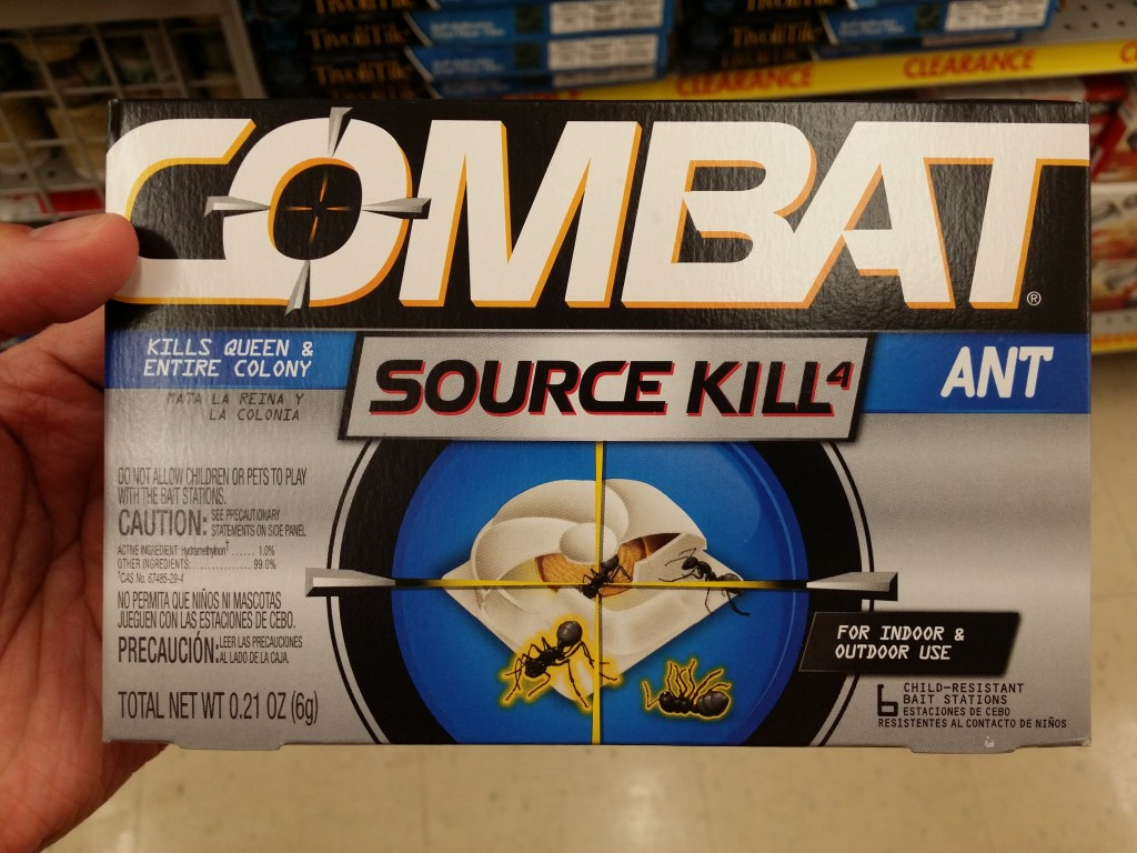 Combat Source Kill for Ants