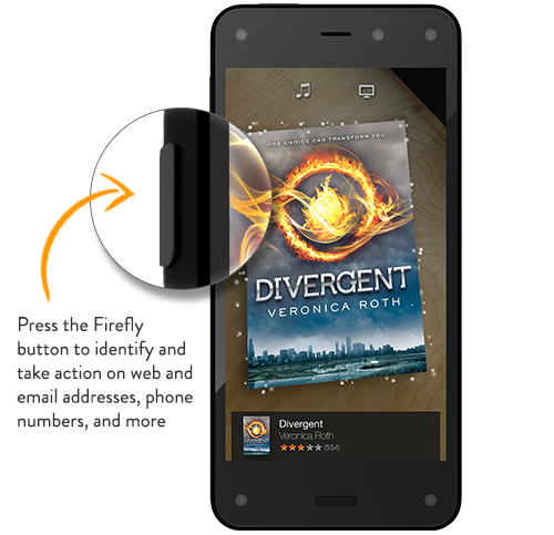 Firefly Button on Fire Phone